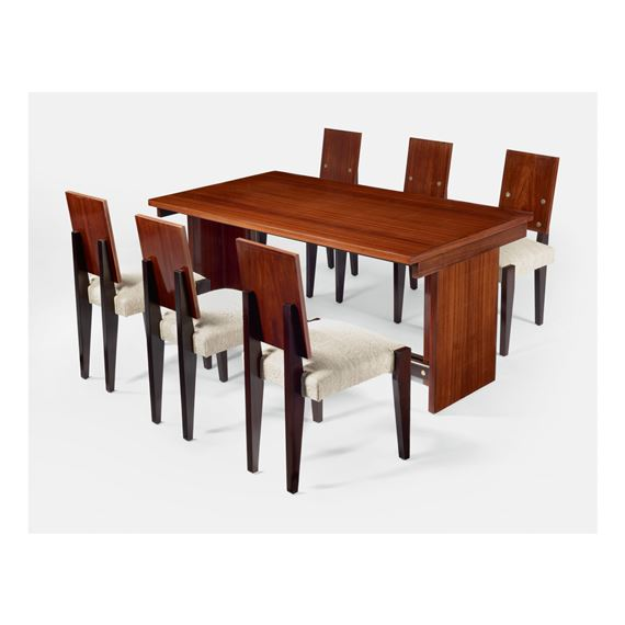 Sornay Andre Dining Table And Six Chairs Mutualart