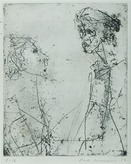 Williams Fred | Two Heads (1956) | MutualArt