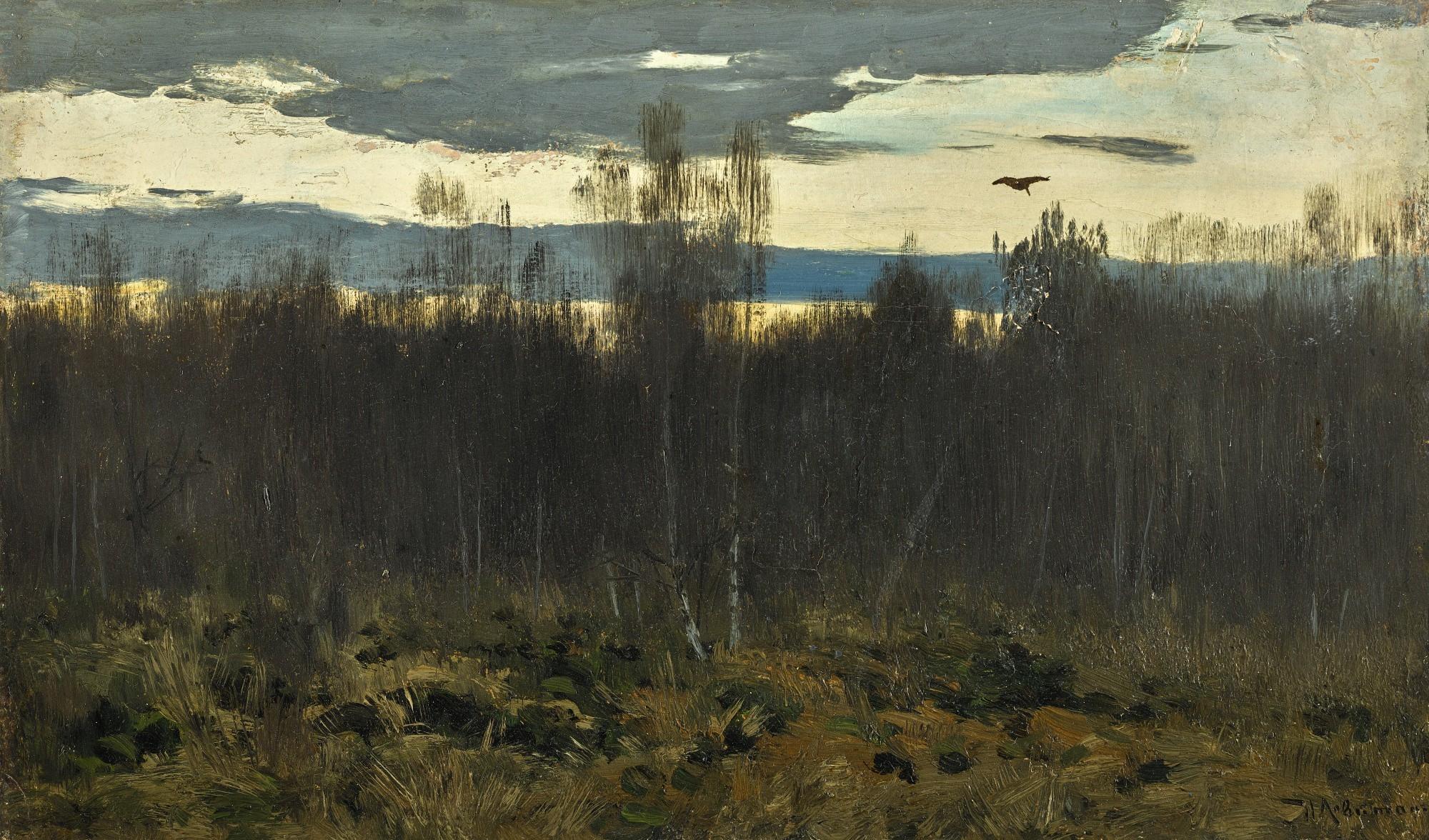 Levitan Isaak | A summer landscape (1899) | MutualArt