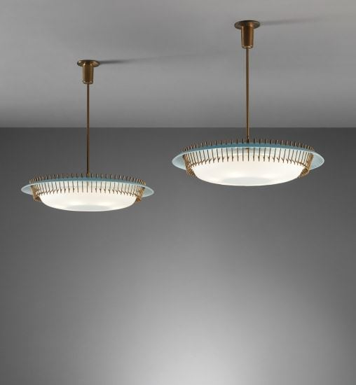 Lelli Angelo Pair Of Ceiling Lights