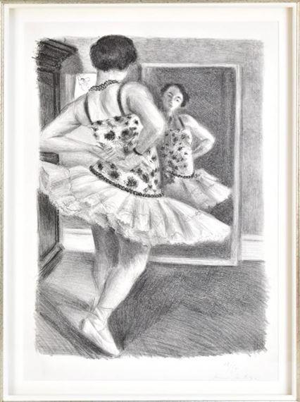 Artwork by Henri Matisse, Danseuse Reflétée dans la Glace', Made of lithograph