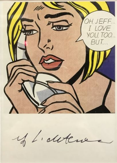 Lichtenstein Roy Oh Jeff I Love You Too But Mutualart