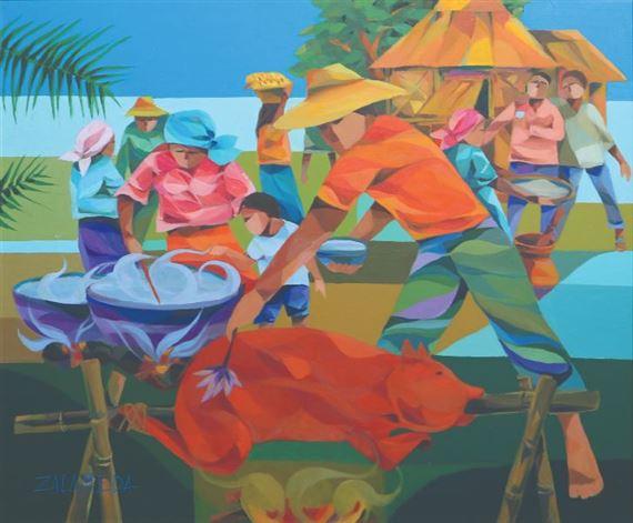 Zalameda Oscar 110 Artworks Mutualart