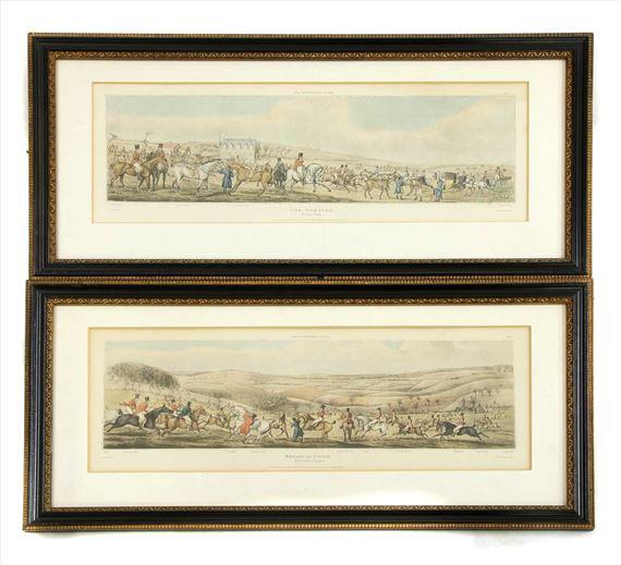 Henry Thomasalken Set Of Four Hunting Prints Mutualart