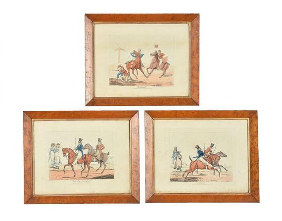 Henry Thomasalken A Set Of Eight Sporting Prints Mutualart