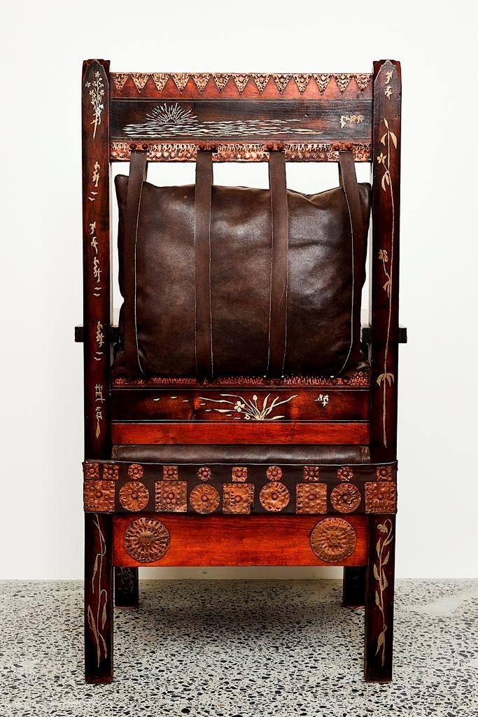 Carlo Bugatti   Throne Armchair (Circa 1902)   MutualArt