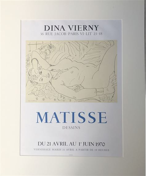 Artwork by Henri Matisse, Dina Vierny, Made of Mourlot lithograph