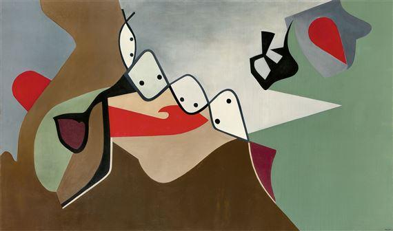 Paalen Wolfgang Avertissement I Peinture 1934 Mutualart