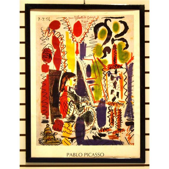 Artwork by Pablo Picasso, Two Works: Cannes Studio; Dance of Youth, Made of colour lithographs