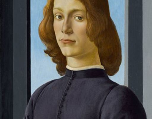 Botticelli: A Closer Look at Young Man Holding a Roundel