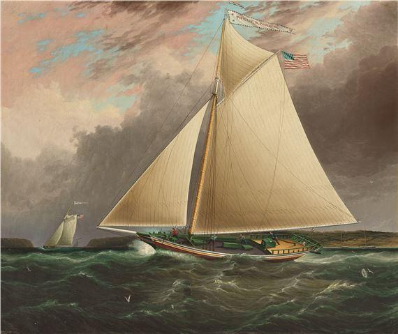 Image result for hudson river sloop painting