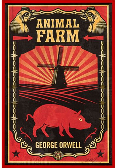Fairey Shepard Animal Farm And 1984 2008 Mutualart