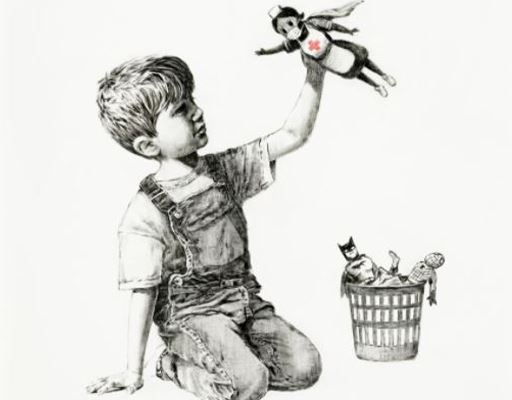 Banksy's Record and Sotheby's London-Paris Axis